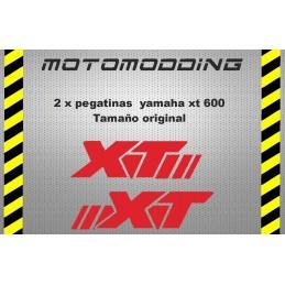 Pegatinas depósito moto yamaha xt 600