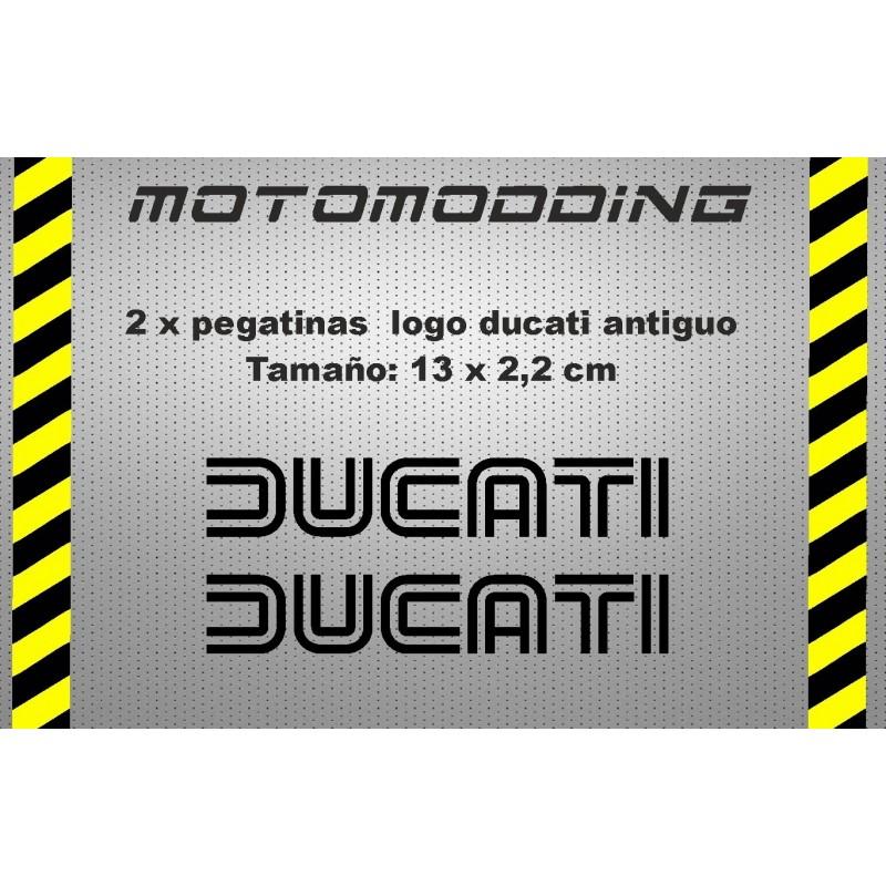 Pegatinas logotipo antiguo ducati