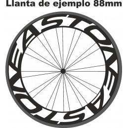 Pegatinas - Vinilos para llantas de bicicleta EASTON
