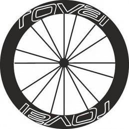Pegatinas llantas bici ROVAL stickers decals autocollant vinilos ruedas calcas
