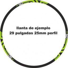 Pegatinas llantas bici mtb calcas stickers ENVE M50 vinilos ruedas