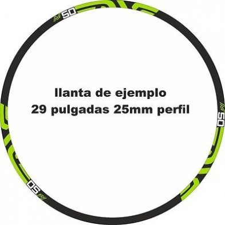 Pegatinas ENVE M50 llantas bicicleta mtb