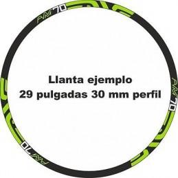 Pegatinas llantas bici mtb stickers ENVE AM70 decoracion vinilos ruedas