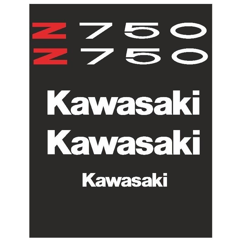Kit vinilos kawasaki Z750