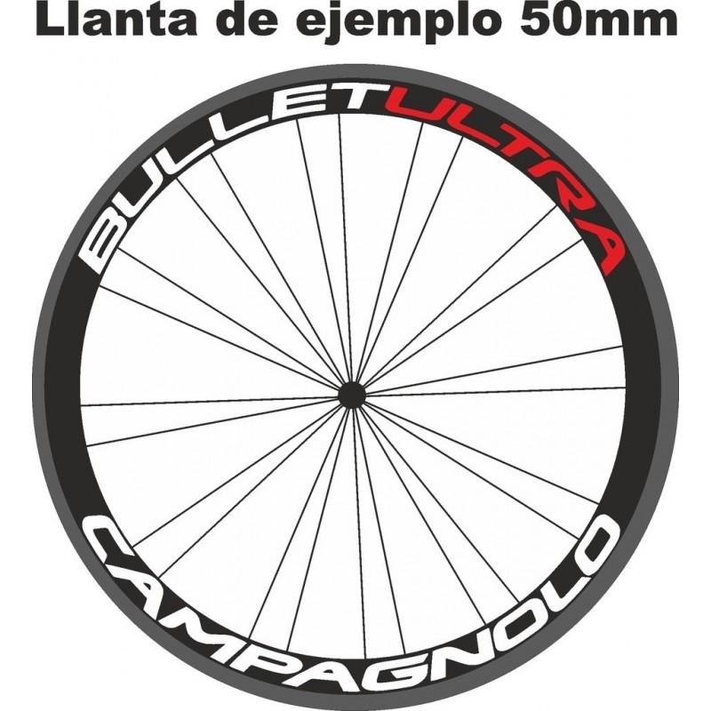 Pegatinas llantas bici campagnolo bullet ultra vinilos stickers autocollant decals ruedas calcas