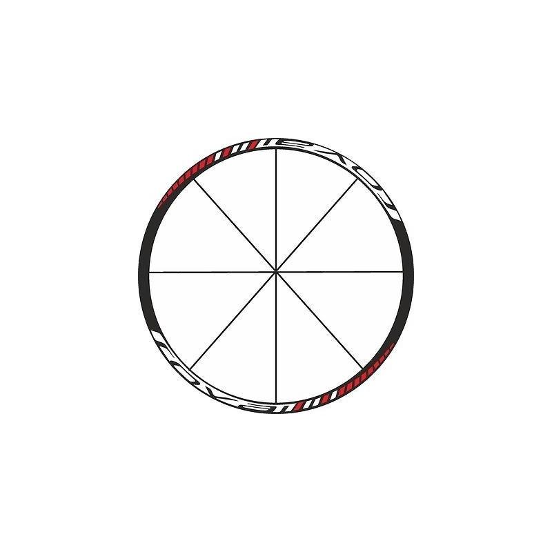Pegatinas para 2 llantas bici ROVAL stickers decals autocollant calcas ruedas