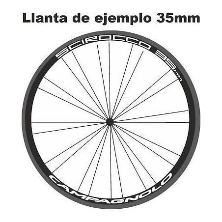 Pegatinas llantas bicicleta Campagnolo Scirocco