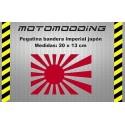 Pegatina bandera imperial Japón