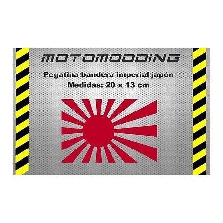 Pegatina bandera imperial Japón stickers decals autocollant vinilo calcas