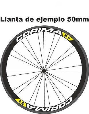 STAR SAM® PEGATINAS LLANTAS BICI CARRETERA Corima ADHESIVOS 60 mm sticker
