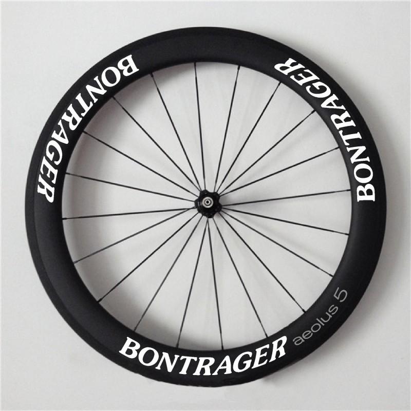 Pegatinas llantas bicicleta bontrager aeolus