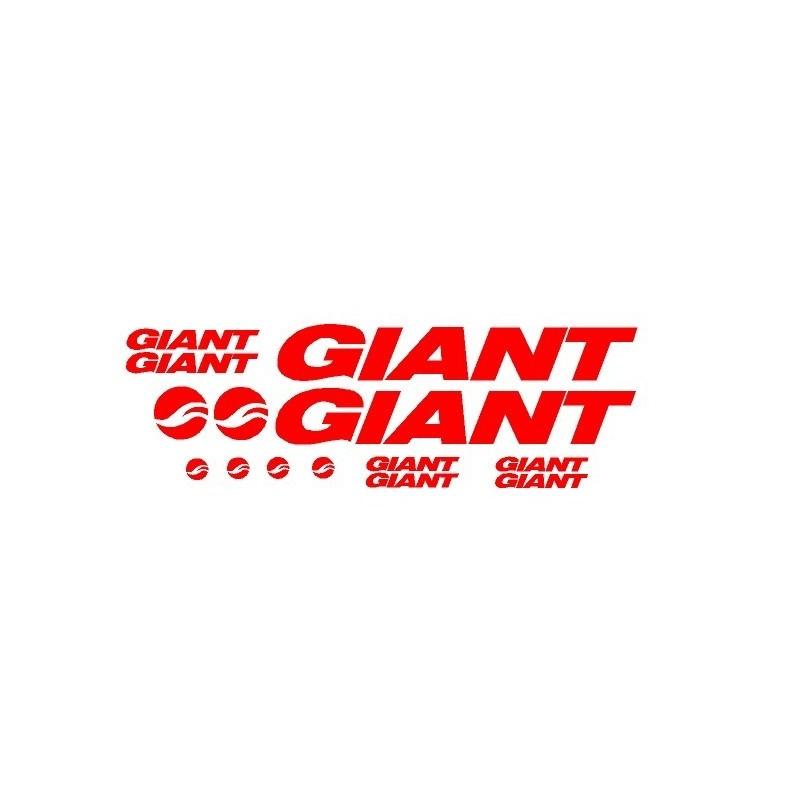 Kit vinilos giant