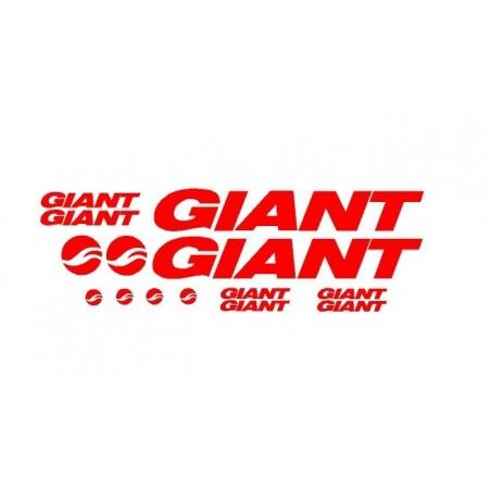 Pegatinas para bicis giant