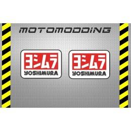 2 pegatinas yoshimura moto