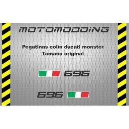 Vinilos Ducati Monster 696