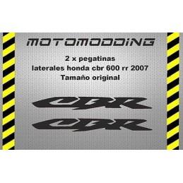 Pegatinas lateral Honda cbr 600 RR 2007