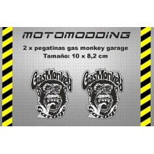 Pegatinas gas monkey garage