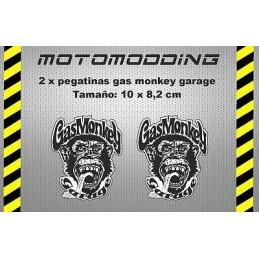Pegatinas gas monkey garage