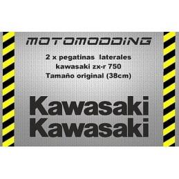 Pegatinas laterales Kawasaki zx-r ZXR 750