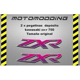 Pegatinas depósito Kawasaki zx-r ZXR 750