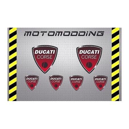 Pegatinas Ducati corse