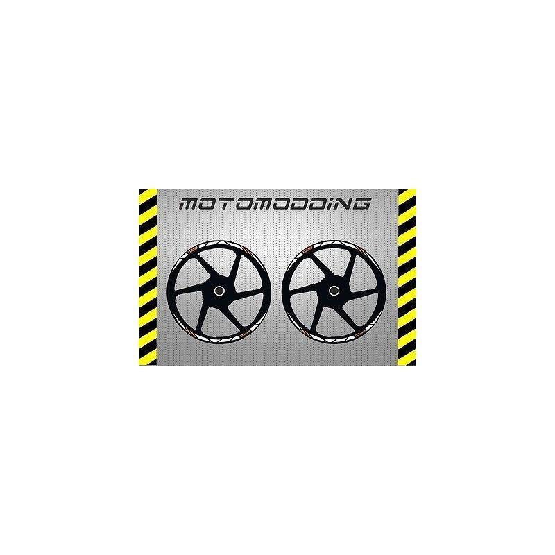 Pegatinas llantas Yamaha tmax 2008/2015