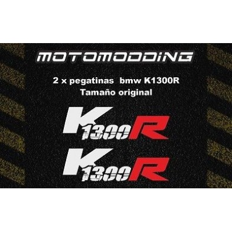 Pegatinas BMW K1300R rasgadas