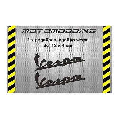 Pegatinas logotipo vespa vinilo