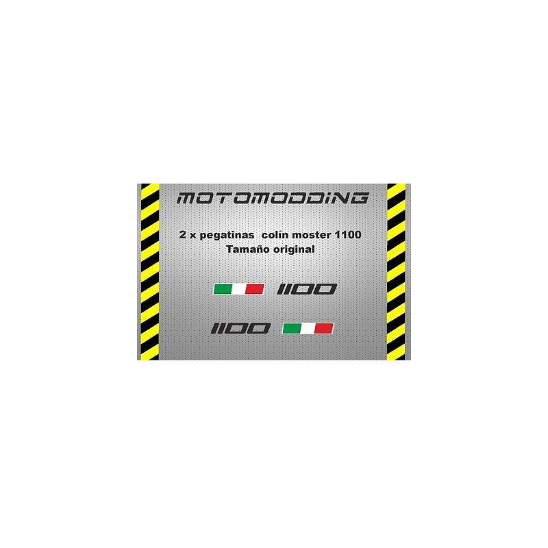 Pegatinas colín Ducati monster 1100