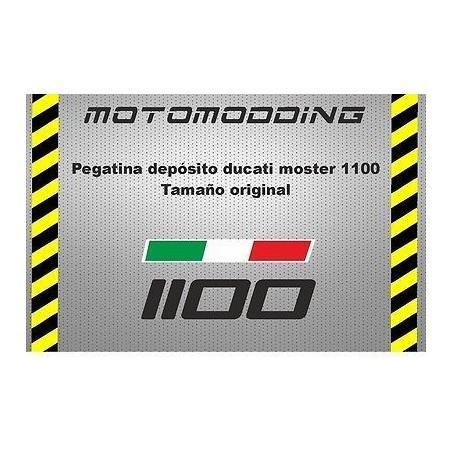 Pegatina depósito Ducati monster 1100