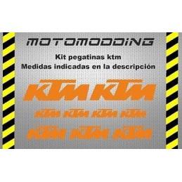 Pegatinas moto KTM