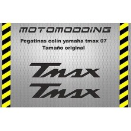 Pegatinas colín Yamaha tmax