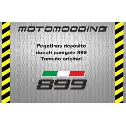 Pegatinas depósito Ducati panigale 899 vinilo