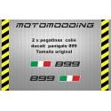 Pegatinas colín Ducati panigale 899
