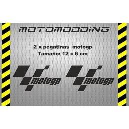 Pegatinas logotipo motogp