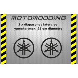 Pegatinas para motos yamaha diapasones