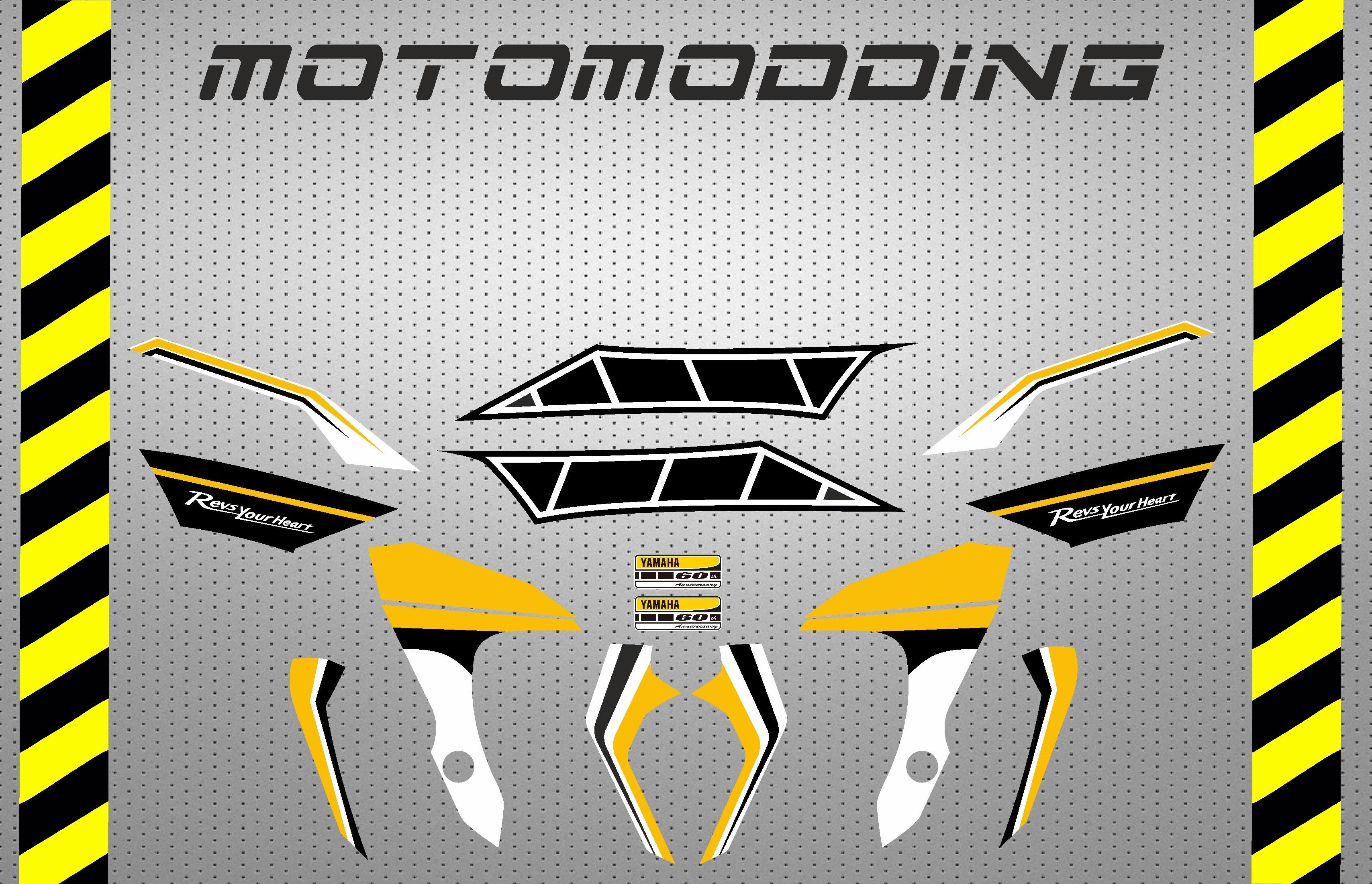 Pegatinas personalizables para Motos Yamaha Vinilos y adhesivos