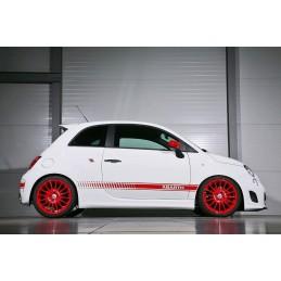 Pegatinas laterales coche Fiat 500 Abarth