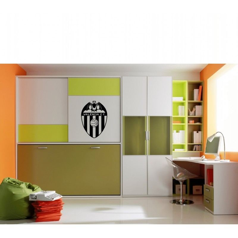 Vinilo decorativo escudo Valencia C.F