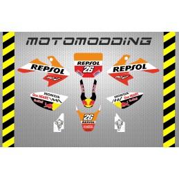 Kit pegatinas malcor racer repsol Marc Marquez