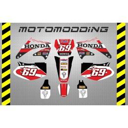 Pegatinas Honda CRF450 2002 2004 sm