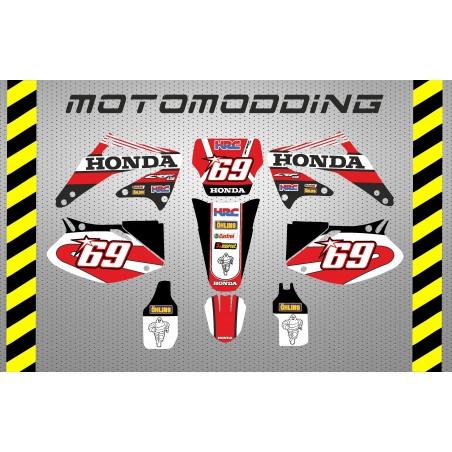 Kit pegatinas Honda CRF450 2002 2004 sm
