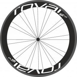 Pegatinas llantas bici ROVAL cl 60 rapide stickers decals autocollant vinilos ruedas calcas