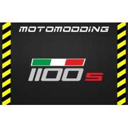 Pegatina depósito Ducati monster 1100s