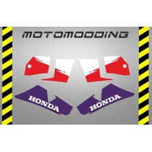 Pegatinas carenados laterales honda NS-!