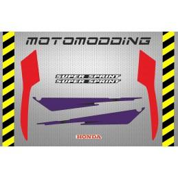 Pegatinas carenado trasero o colín Honda NS 1