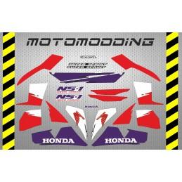 Kit completo pegatinas Honda NS1