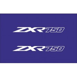 Pegatina colín Kawasaki zx-r ZXR 750 J1