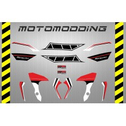 Pegatinas Yamaha mt-07 aniversario.