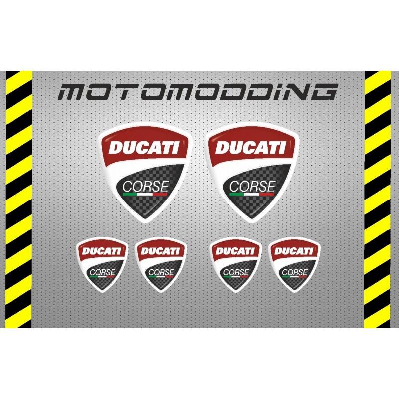 Pegatinas logotipo Ducati